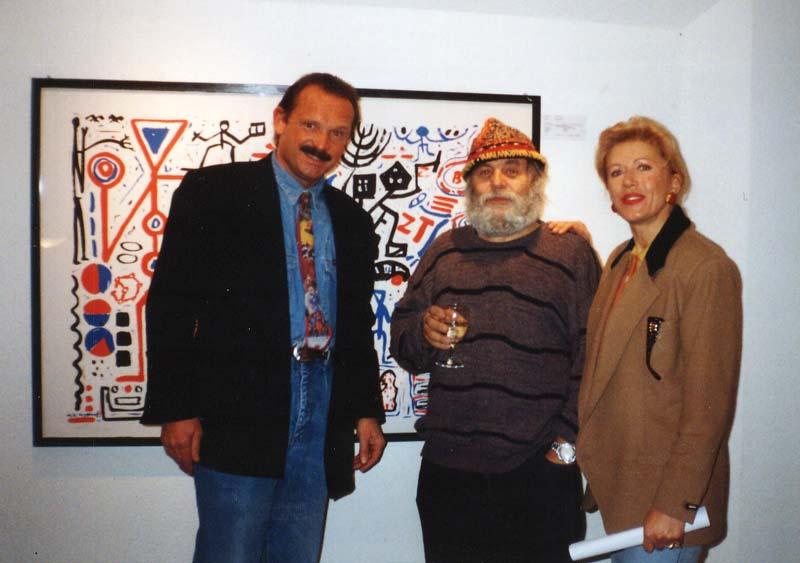 Sie sehen Bilder aus dem Artikel: Ausstellung 1997 - A. R. Penck