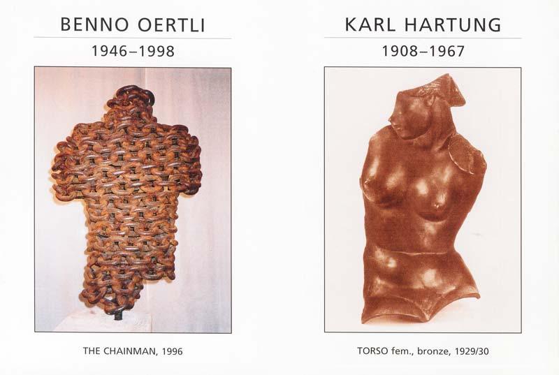 Sie sehen Bilder aus dem Artikel: Ausstellung 2000- The Mystery of the Sculpture
